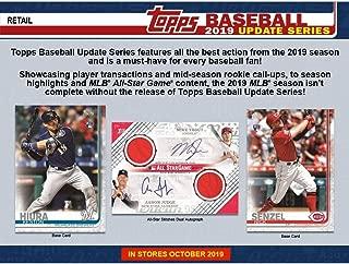 Topps 2019 Update Series Baseball Retail Box (24 Packs/16 Cards: 1 Perennial All Stars Insert)
