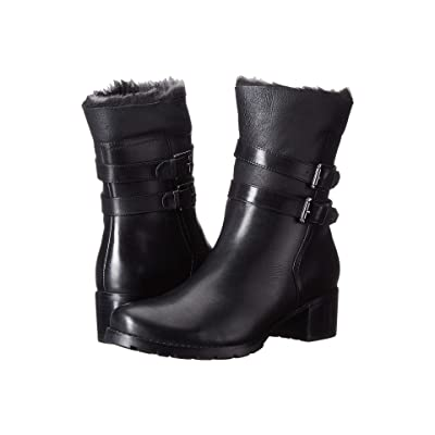 Blondo Fabiana Waterproof (Black Leather) Women