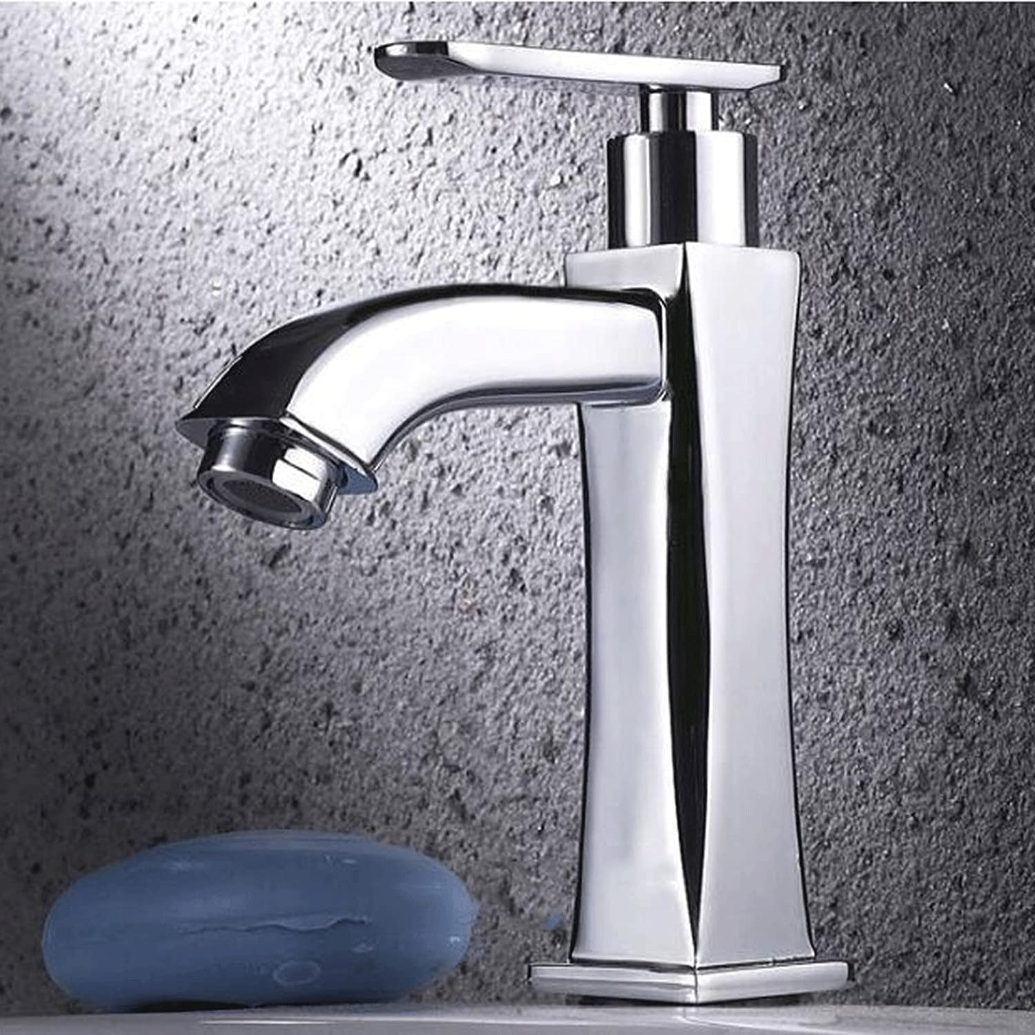Single cold single hole greenical quick open faucet