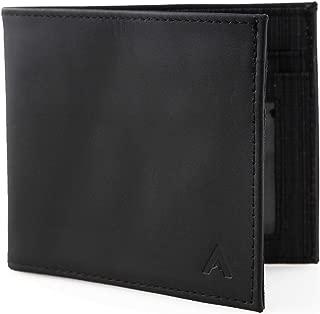 Slim front pocket RFID blocking Leather ID Wallet