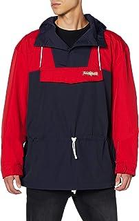 Napapijri Skidoo S Tribe Poly Jacket in Red/Navy Multi