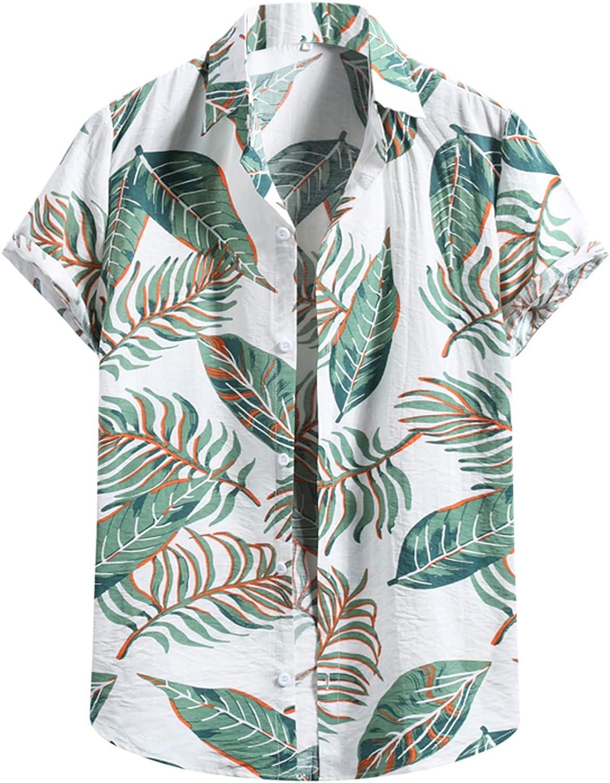 DZQUY Men's Linen Cotton Blend Henley Shirt 3/4 Sleeve Basic Summer Casual Loose Fit Vintage Shirt Beach Yoga Tee Tops