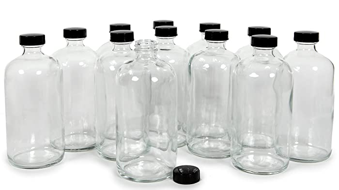 Updated 2021 – Top 10 Frosted Glass Bottle Food Grade 16 Oz