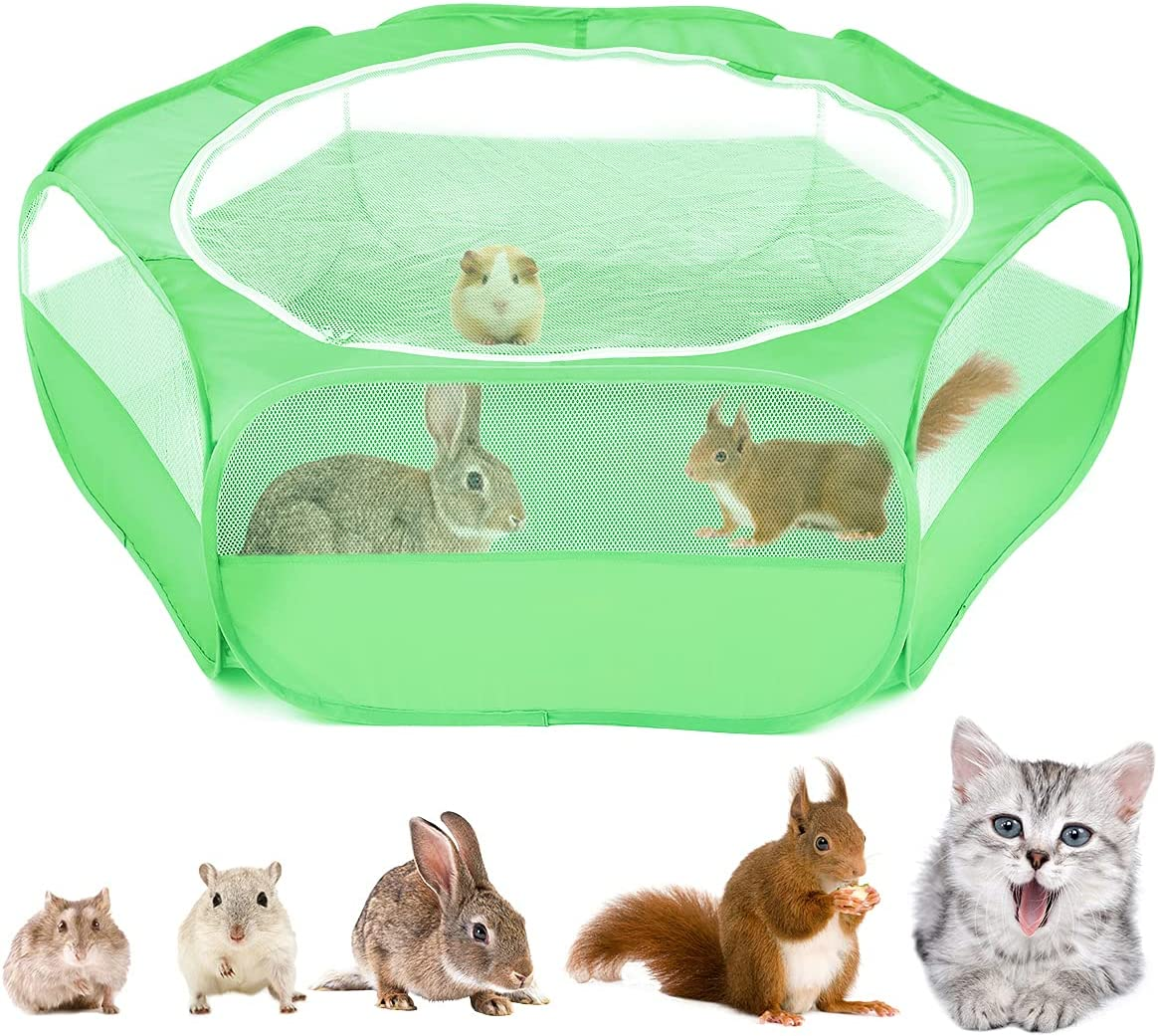 Outlet SALE VavoPaw Small Animals Playpen Breathable Mail order Pet Waterproof Indoor
