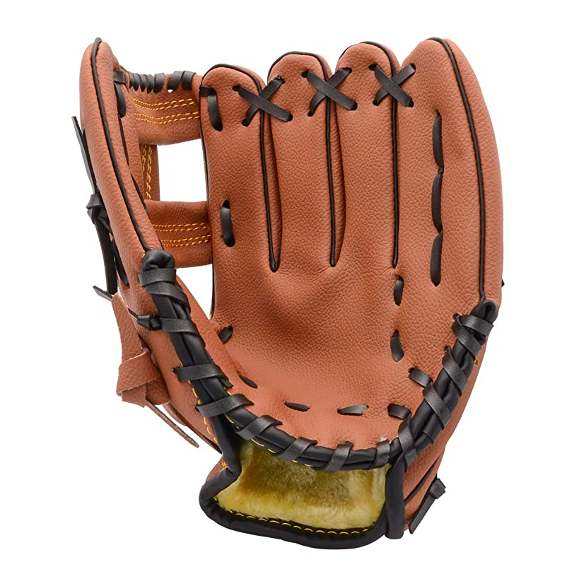 FerDIM Baseball Glove Teeball Glove for Kids/Youth/Adult Inch Right Hand Throw, Left Hand Glove