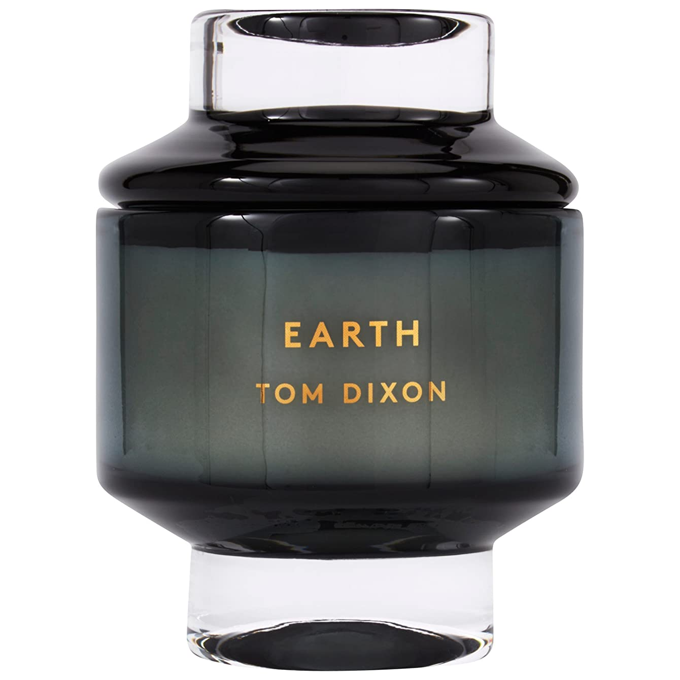 サラミ奴隷夜間トムディクソン地球大の香りのキャンドル x6 - Tom Dixon Earth Scented Candle Large (Pack of 6) [並行輸入品]