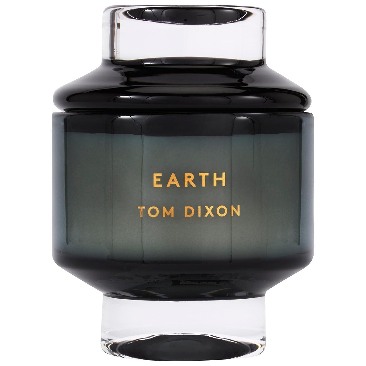 参加する祖先かろうじてトムディクソン地球大の香りのキャンドル x6 - Tom Dixon Earth Scented Candle Large (Pack of 6) [並行輸入品]