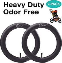 12.5'' x 1.75/2.15 Front Wheel Replacement Inner Tubes (2-Pack) For BoB Revolution SE/Pro/Flex/SU/Ironman, Graco Click/Go Jogging - Made from BPA/Latex Free Premium Quality Butyl Rubber