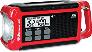 Midland, MROER210, ER210 E+Ready Compact Emergency Crank Weather Radio, 1