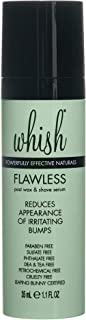 Whish Beauty Flawless Post Wax & Shave Serum, 1.1 Fluid Ounce