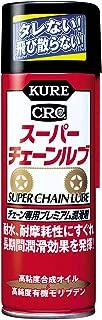 KURE(呉工業) スーパーチェーンルブ (180ml) チェーン専用プレミアム潤滑剤 [ 品番 ] 1068 [HTRC2.1]