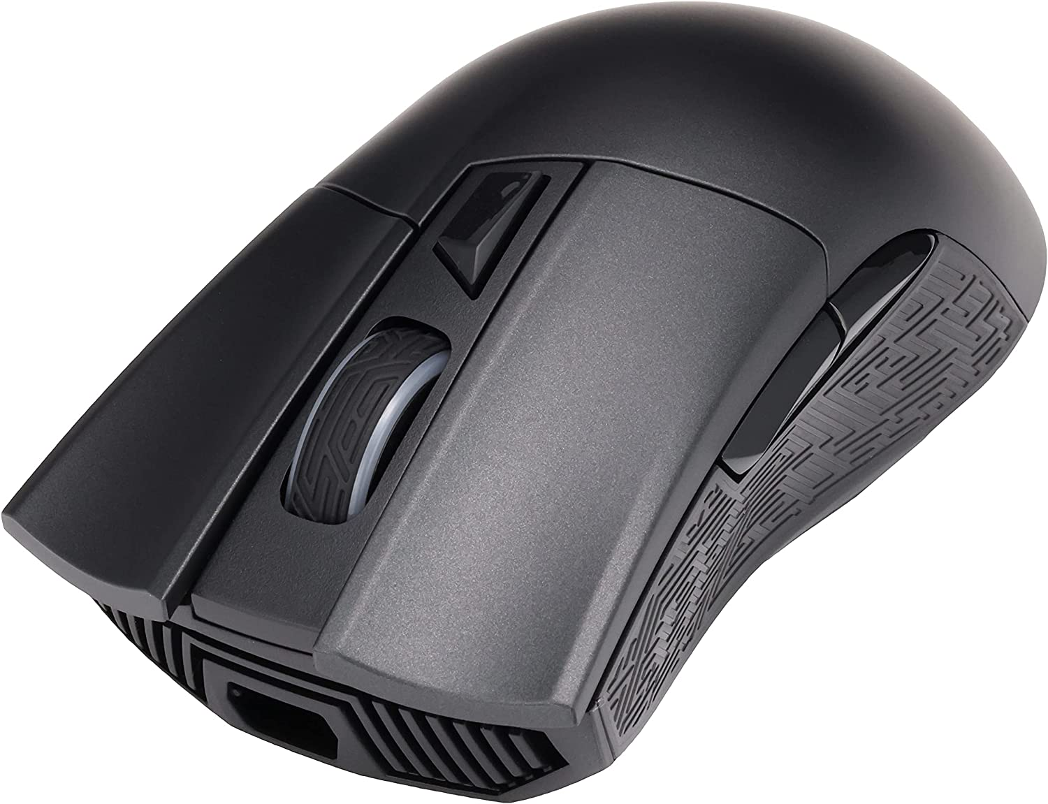 ASUS Wireless Optical Gaming Mouse for PC - ROG Gladius II | Right-hand Grip | 12000 DPI Optical Sensor, 400 IPS, Omron Switches | 6 Programmable Buttons | Aura Sync RGB Lighting, ROG Armoury II
