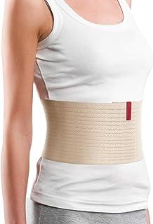 بند بند شکم برای زنان و مردان ORTONYX 6.25 / بسته بندی پس از جراحی پس از زایمان / کمربند ساعد ناف ناف شکم / 524006 بژ S / M