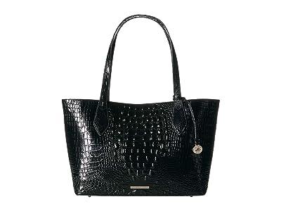 Brahmin Melbourne Athena (Black) Handbags