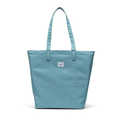 Herschel Supply Co. Mica (Oil Blue Crosshatch) Tote Handbags
