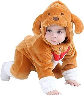 MerryJuly Unisex-Baby Animal Onesie Costume Cartoon Outfit Homewear