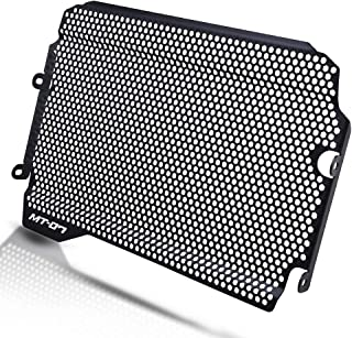 MT07 Motorcycle Radiator Grille Guard Protector Cover Aluminum Alloy for Yamaha MT07 MT-07 MT 07 2018-2019 (Black)