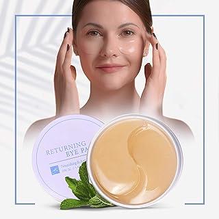 60 Parches para los ojos - Producto Premium - Cosmetica Coreana - Ojos Parches - Parches Hidrogel - Antiojeras Mujer - Con...
