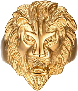Best lion head ring Reviews