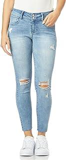 WallFlower Luscious Curvy Skinny - Pantalones Vaqueros para Mujer