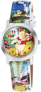 am:pm Disney - Reloj para niños, diseño de Winnie The Pooh DP140-K231, Color Azul y Blanco