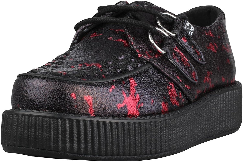 T.U.K. Paint Splatter Metallic Low Damen Schuhe  | Lebhaft