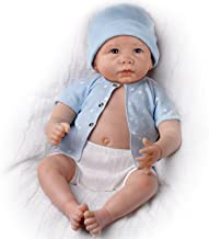 The Ashton-Drake Galleries Lifelike Sweet Baby Liam Baby Boy Doll Is Fully Poseable