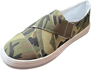 lcybem Casual Plate Baskets Femme Outdoor Chaussures Slipon Mode Chaussures de Sport Legeres Fitness Sneakers