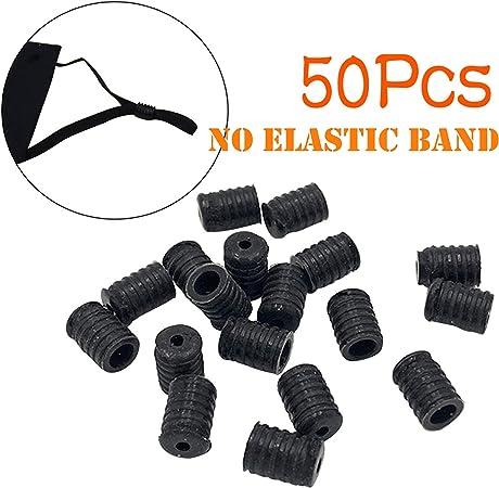 Bloqueo de Cable de Silicona alterna para Cordón Ajustable Cordón Hebilla Tapón De Cable