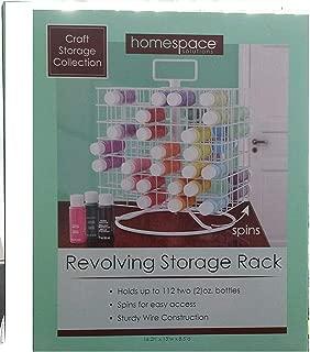 Craft Storage Collection; Craft Paint Revolving Storage Rack