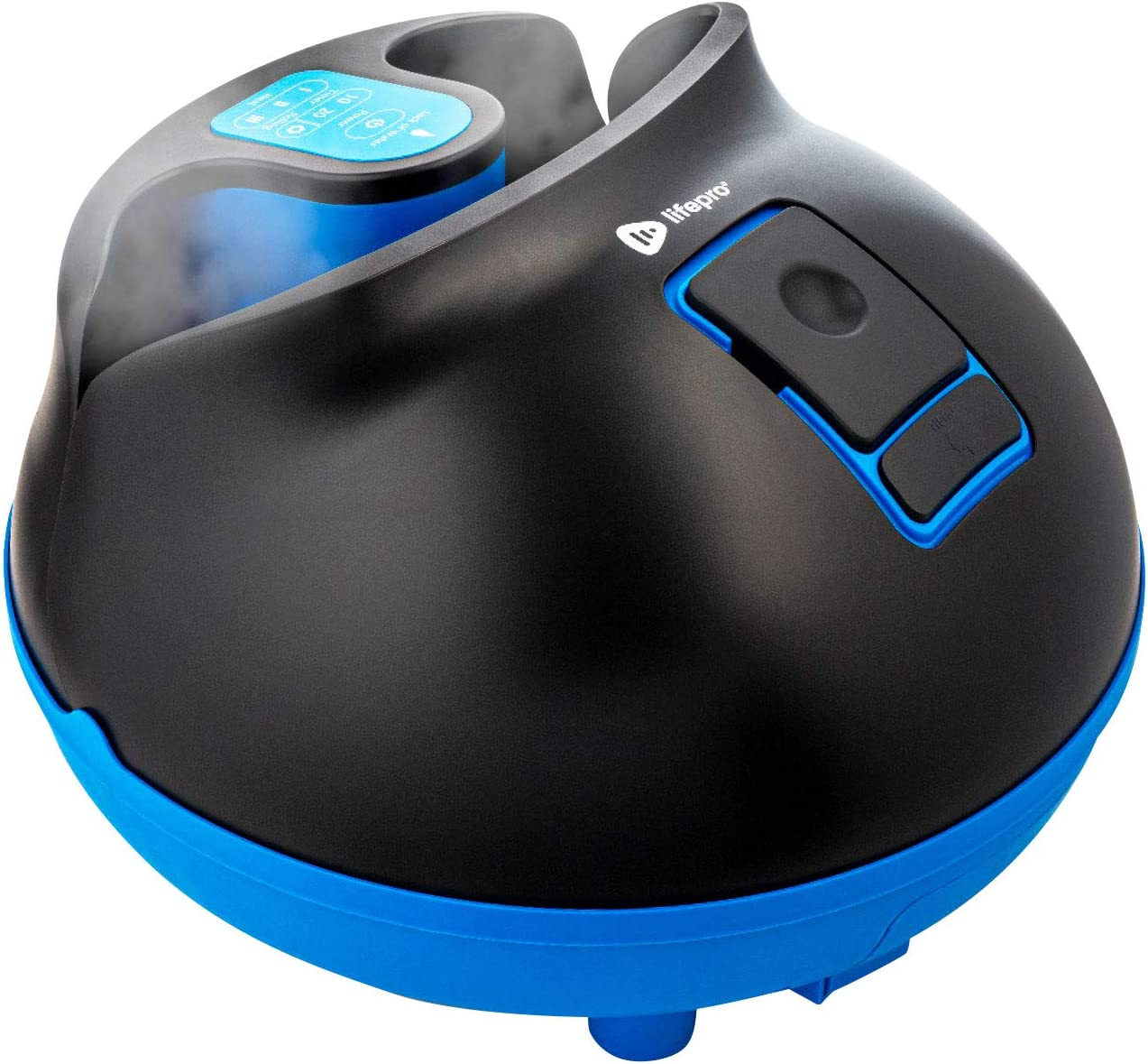 Ranking TOP1 Lifepro Foot ! Super beauty product restock quality top! Spa Massager with Heat Steam Ma Sauna - Acupressure