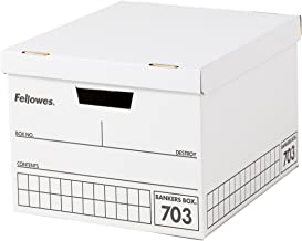 Possible pairs load 30kg stacked five-stage three pack box file for A4 black Fellowes Bankers Box 703 (japan import)