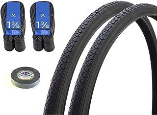 自転車 タイヤ チューブ リムテープ 24インチ 24×1 3/8 WO 2本セット