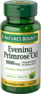 Nature's Bounty Natures Bounty Evening Primrose Oil, 1000 mg, 60 caps (Pack of 1)