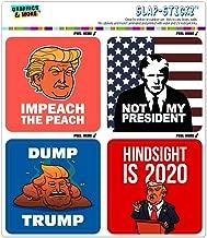 GRAPHICS & MORE Donald Trump Anti Impeach Dump Not My President Craft Scrapbook Planner Calendar Sticker Set