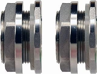 Best bulkhead fitting stainless steel Reviews