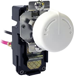 King Electric TKIT-2BW Double Pole Built In Thermostat Kit, White