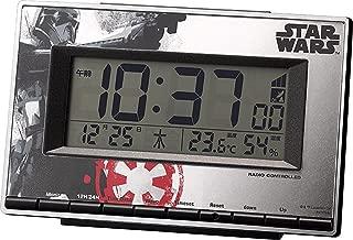 STAR WARS (スターウォーズ) 目覚まし時計 電波 デジタル デス・トルーパーM133 【 限定商品 】 赤 リズム時計 8RZ133MD01