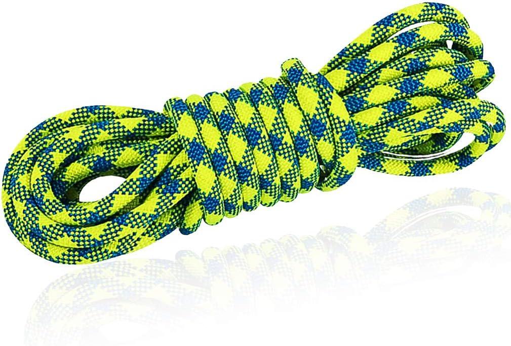 Baltimore Mall NewDoar 10.5mm 3 8in Dynamic Rope 24KN 5399 Ke Max 88% OFF lb Nylon Robust