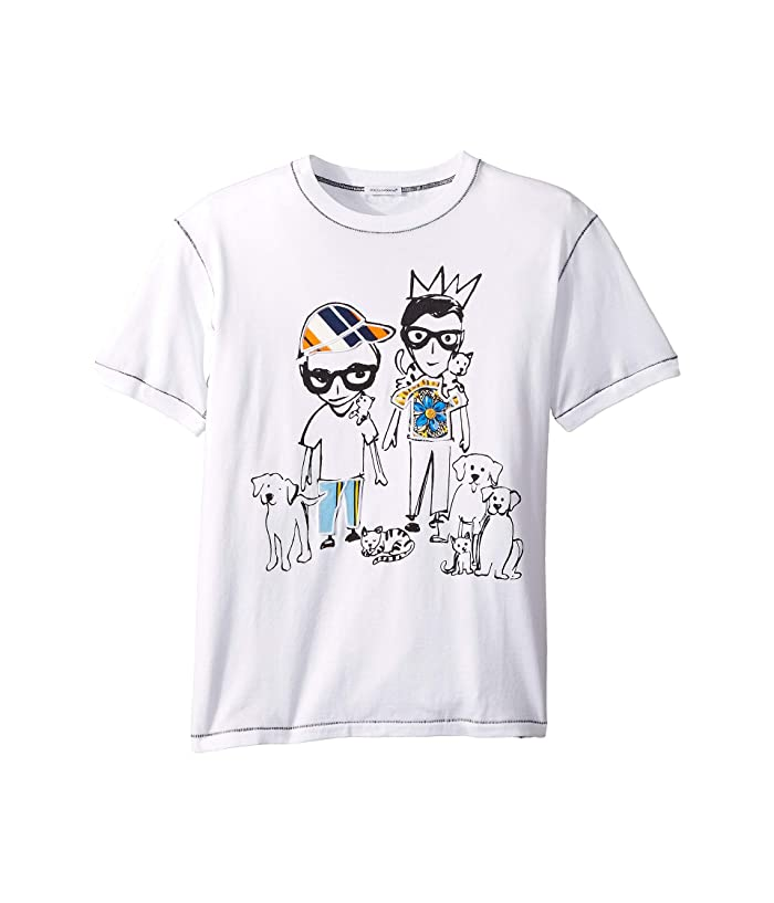 Shirt (Big Kids) White