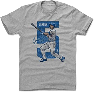 500 LEVEL Corey Seager Shirt - Los Angeles Baseball Men's Apparel - Corey Seager Alpha