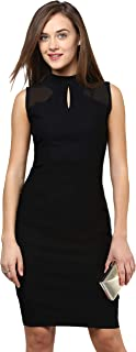 Miss Chase Women's Polyester Bodycon Dress