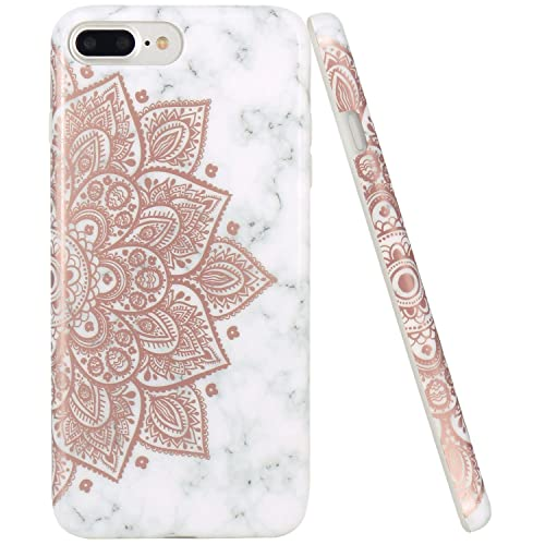 Funda iPhone 8 Plus/iPhone 7 Plus ZUSLAB Bonita Mandala Flor