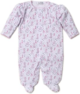 Kissy Kissy Baby-Girls Infant Oodles of Poodles Print Footie