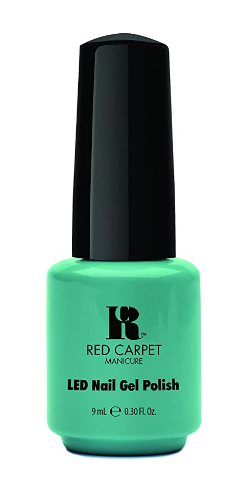 ハシー適応的徐々にRed Carpet Manicure - LED Nail Gel Polish - A New York Minute - 0.3oz / 9ml
