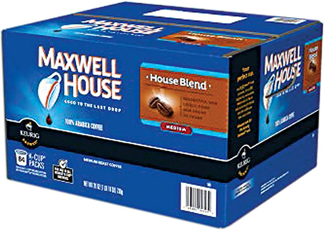 Maxwell House House Blend K Cups 100 Ct