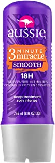 Tratamento 3 Minute Miracle Smooth Frizz Control 236ml, Aussie