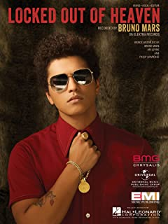 Bruno Mars - Locked Out Of Heaven - Piano/Vocal/Guitar Sheet Music