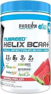 Nubreed Helix BCAA+ | Delicious Full Spectrum BCAA/EAA + Electrolyte Recovery Powder | Vegan Friendly | Keto Friendly | Ze...