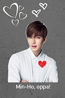 Kdrama Idol Lee Min-Ho Oppa Gift Notebook: Saranghae Kpop Actor Journal for Teen Girls, College Ruled